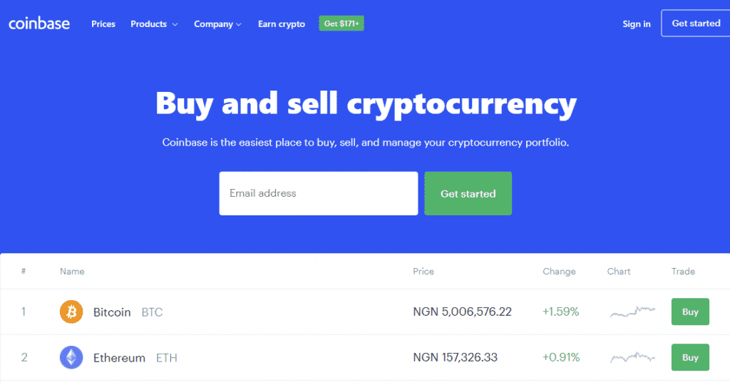 cryptocurrency wallet with coinbase