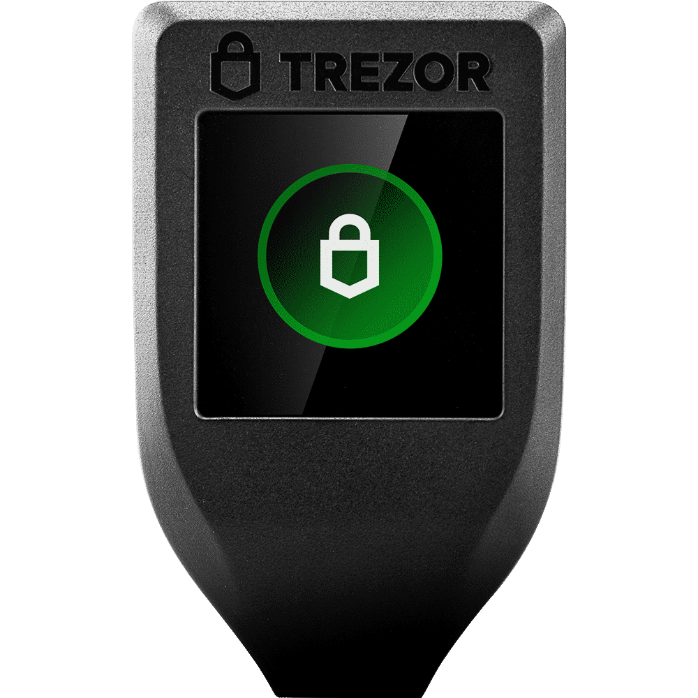 An image of one of the best hardware wallets: the Trezor T