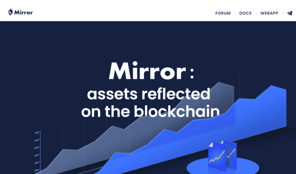Mirror Finance - an app for trading synthetic stocks